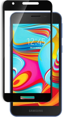 Hupshy Edge To Edge Tempered Glass for Samsung Galaxy A2 Core(Pack of 1)