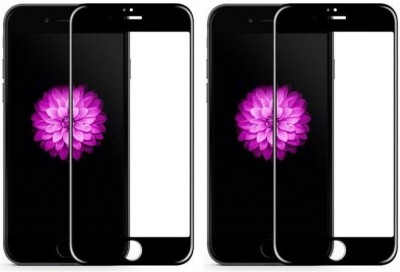Bodoma Edge To Edge Tempered Glass for Apple Iphone 7plus/8plus pack of 2 6D(Pack of 2)