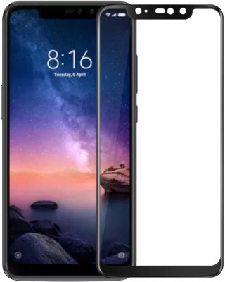 BigChoice Edge To Edge Tempered Glass for Mi Redmi Note 5 Pro (6D Glass, 9H Hardness, Anti-Fingerprint)(Pack of 1)