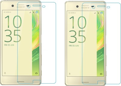 Maxpro Tempered Glass Guard for Sony Xperia X(Pack of 2)