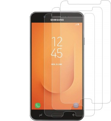 Spinzzy Tempered Glass Guard for Samsung Galaxy J7 Duo(Pack of 3)
