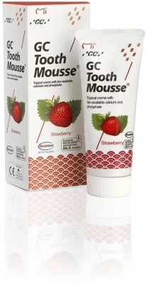 Recaldent Tooth Mousse New Sugar Free Strawberry Flavor Toothpaste(10 g)