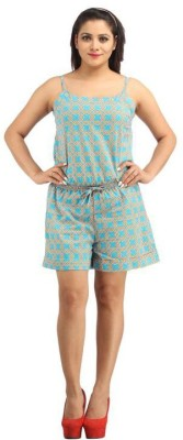 Needlecrest Printed Women's Jumpsuit  available at flipkart for Rs.449