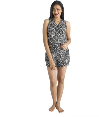 Nite Flite Printed Women's Jumpsuit  available at flipkart for Rs.325