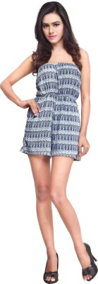 Urban Fashion Bank Graphic Print, Printed Women's Jumpsuit  available at flipkart for Rs.399
