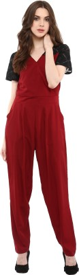 La Zoire Solid Women Jumpsuit at flipkart