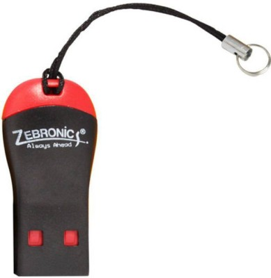 Zebronics 09CR Card Reader black,red