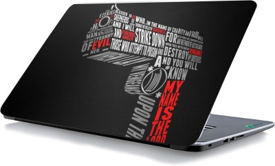 RADANYA Word Gun Laptop Skin 21291 Vinyl Laptop Decal 15.6