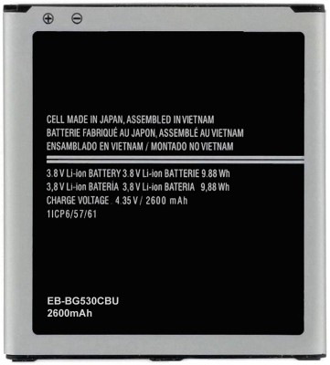 Grand Cell Mobile Battery For Samsung Samsung Galaxy On5/On5 Pro SM-G550FY (Model : EB-BG530CBU / EB-BG530BBC / EB-BG530BBE / EB-BG530CBN / EB-BG530CBE / EB-BG530BBU / EB-BG531BBE / EB-BG531BBN    Power Capacity : 2600mAh)