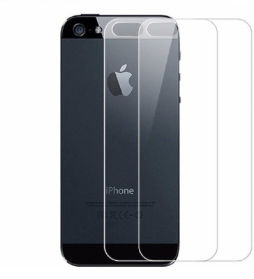 Maxpro Back Tempered Glass for Apple iPhone 5s(Pack of 2)