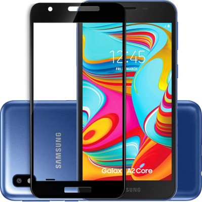 Infinizy Edge To Edge Tempered Glass for Samsung Galaxy A2 Core(Pack of 1)