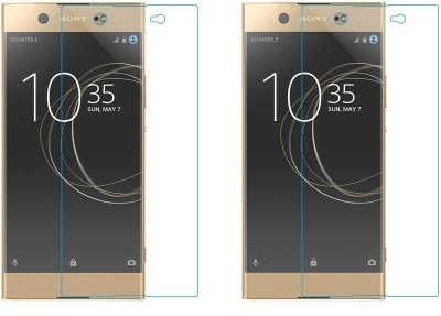 Maxpro Tempered Glass Guard for Sony Xperia XA1 Ultra Dual(Pack of 2)