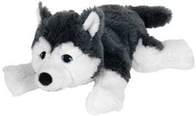 IKEA LIVLIG Soft Toy Dog Siberian Husky   3.4 inch Multicolor IKEA Soft Toys