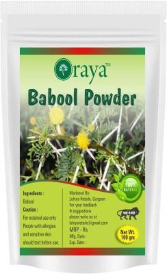 ORAYA 100% Natural Herbal Babool Powder For Tooth Paste -100gm(100 g)