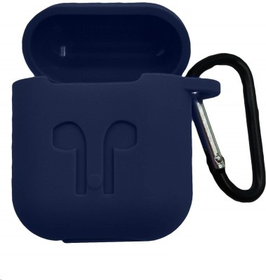 Celzo Front & Back Case for Apple AirPods(Blue, Silicon)