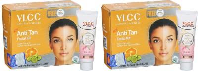 VLCC Epic Anti Tan Facial Kit Free White & Bright Glow Gel...