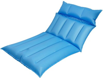 Baba Electronics Cotton 1 Seater Inflatable Sofa(Color - Blue)