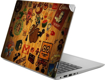 GADGETS WRAP GWSG-3727 Printed Top Only Hipster Sticker Vinyl Laptop Decal 14