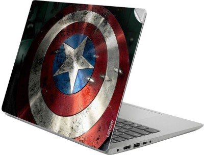 GADGETS WRAP GWSG-2737 Printed Top Only captainamerica shield highres Vinyl Laptop Decal 14