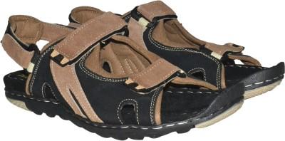 Strive Men Black Sandals at flipkart