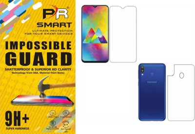 PR SMART Front and Back Screen Guard for Samsung A20(Pack of 1)