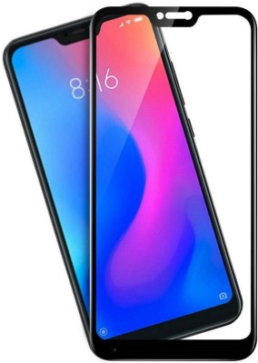 BigChoice Tempered Glass Guard for 9H Hardness, Mi Redmi 6 Pro (6D Glass, Anti-Fingerprint)(Pack of 1)