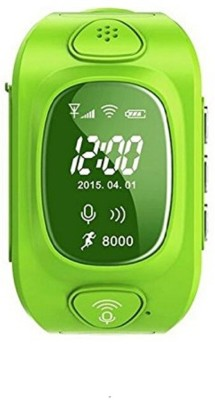 Wonder World ®Smart Wrist Watch with Anti-Lost Alarm green Smartwatch(Green Strap Free Size)