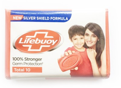 Lifebuoy TOTAL10 SILVER SHIELD FORMULA(4 x 31.25 g)