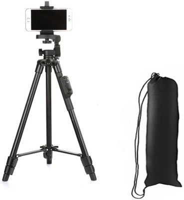 LIFEMUSIC Tripod-3388 New arrivel Shooting Angle Lightweight Camera Stand Tripod Kit(Black, Supports Up to 3000 g) 1