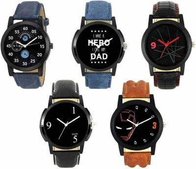 3SIX5 NEW ATTRACTIVE LEATHER BELT STYLISH WATCH 7 Analog Watch   For Men 3SIX5 Wrist Watches