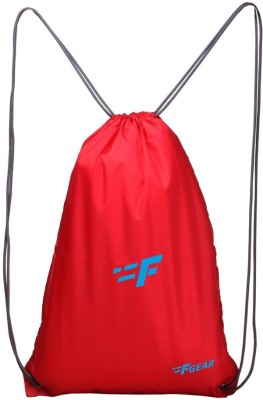 F Gear String Gym Bag 13 L Small Backpack(Red)