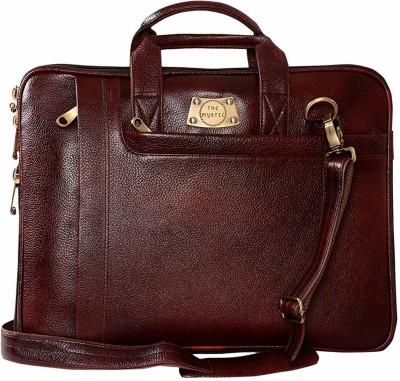 The Mystic 15.6 inch Laptop Messenger Bag(Brown)