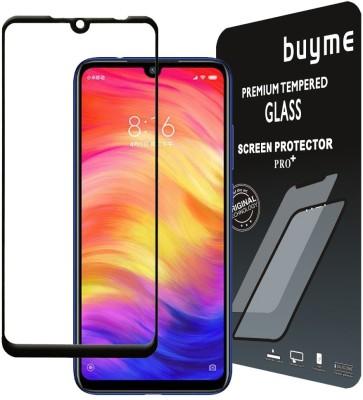 BuyMe Tempered Glass Guard for Mi Redmi Note 7 Pro, Mi Redmi Note 7(Pack of 1)