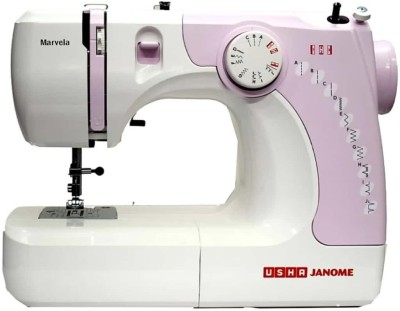 Usha New marvela pink Electric Sewing Machine( Built-in Stitches 14)