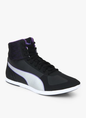 PUMA Modern Soleil Mid Quill Casuals For Women Black PUMA Casual Shoes