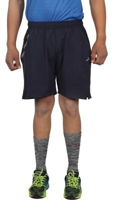 Vector X Solid Men Blue Sports Shorts