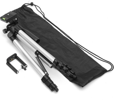 BUY SURETY Tripod-3110 High Quality Portable, lightweight and affordable tripod with 3-way head Tripod + 3-Way Head Extend to 1020mm Built-in bubble level 360° horizontal and 90° vertical swivel with 4-sections aluminum legs Quick release leg lock Non-slip rubber feet Compatible with all Cameras a 1