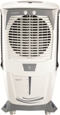 Crompton 55 L Desert Air Cooler(White & Grey, ACGC-DAC 555)