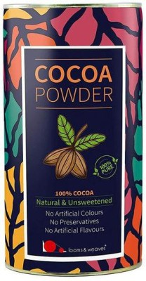 looms & weaves 100 % Pure & Natural Cocoa Powder From Kerala Unsweetened- 400 Gm Cocoa Powder(400 g)