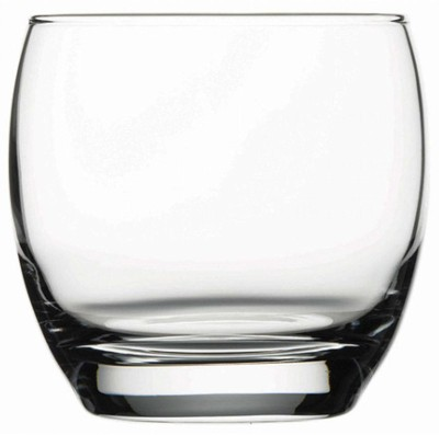 MR 6 Pcs. Unbreakable Stylish Transparent Water Glass Set 300 Ml,Abs Poly Carbonate Plastic Magic Glasses Glass Set(Plastic, 300 ml, White, Pack of 6)