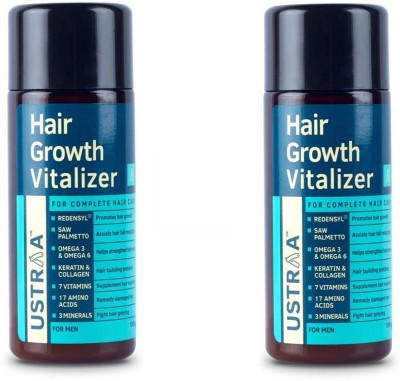 Ustraa Hair Growth Vitalizer (100 ml) pack of 2(100 ml)