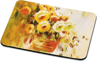 RADANYA Bouquet Of Flowers Mouse Pad 1421 Mousepad(Multicolor)
