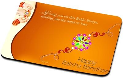 f3a4a5a18 RADANYA Happy Raksha Bandhan Mouse Pad 04R15PD37 Mousepad(Multicolor)