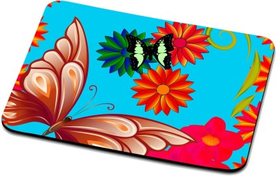 RADANYA Butterfly Mouse Pad 22077 Mousepad(Multicolor)