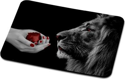 RADANYA Lion Mouse Pad 2357 Mousepad(Multicolor)