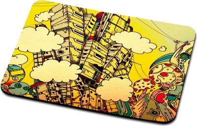 RADANYA Building Mouse Pad 81 Mousepad Multicolor