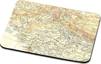 RADANYA Map Mouse Pad 27162 Mousepad(Multicolor)