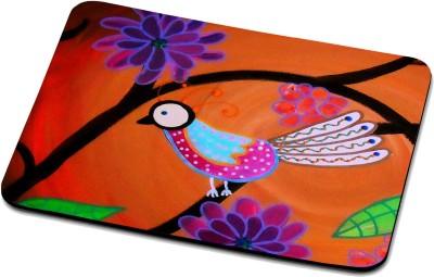 RADANYA Cute Bird Mouse Pad 1017 Mousepad(Multicolor)