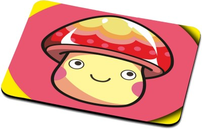 RADANYA Yellow Smiley Face Mouse Pad 3117 Mousepad(Multicolor)