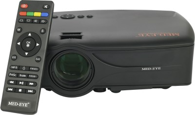 MED-EYE SENCILLO S 3.0 A Portable Projector(Black)